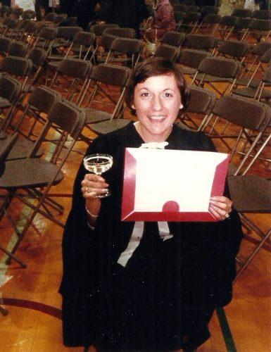 Juin 1984... graduation à la maîtrise