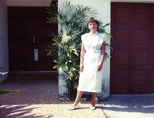 1989, Pompano en Floride