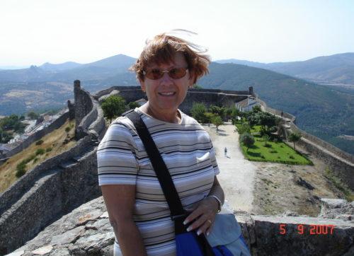 5 septembre 2007 au sommet d'un château à Marvão au Portugal