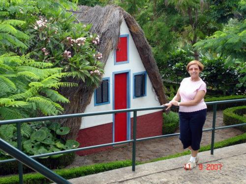 11 septembre 2007, au jardin botanique de Funchal sur l'île de Madère au Portugal.