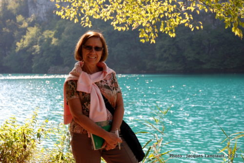 5 octobre 2011, parc national de Plitvice, Croatie.