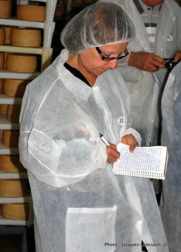 6 octobre 2011, fromagerie Gligora, île de Pag, Croatie