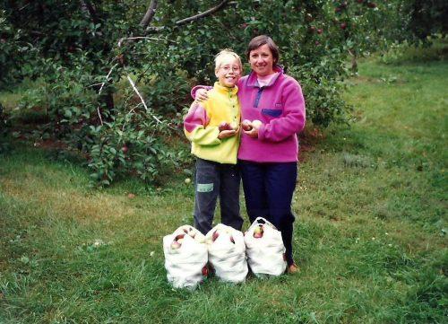 Octobre 1990, aux pommes
