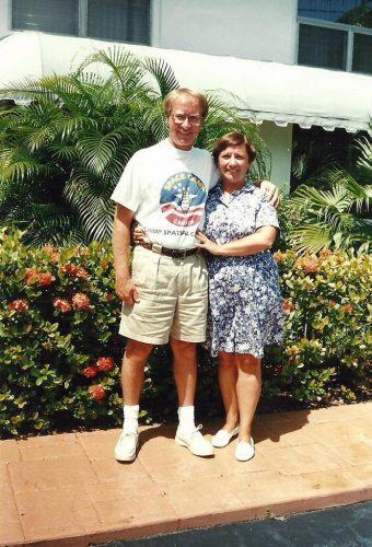 En 1994, des vacances à Pompano Beach en Floride... au Château!