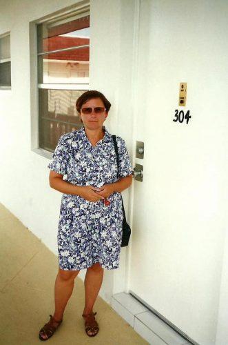 Au condominium des parents de Céline à LauderHill en Floride