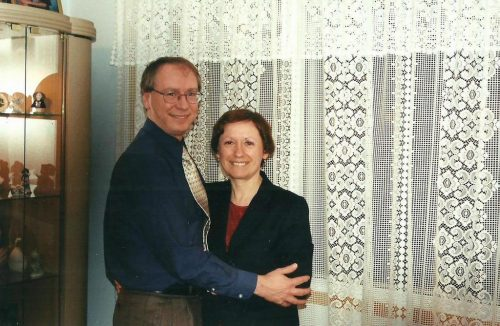 Noël 1998, lors d'un souper chez Micheline.