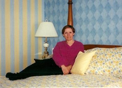 Céline à l'Auberge Hatley dans les Cantons de l'Est