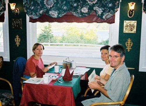 2002... souper en Nouvelle-Écosse