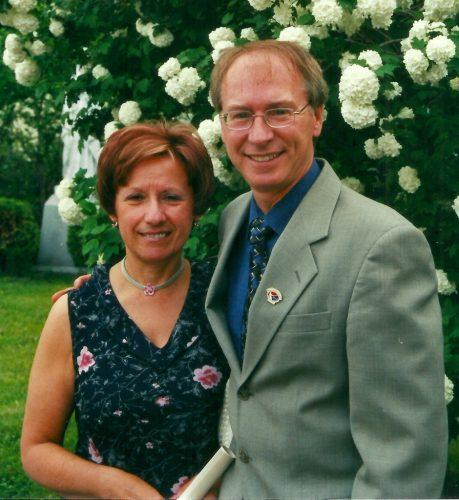 Au marriage de notre filleul Jean-François