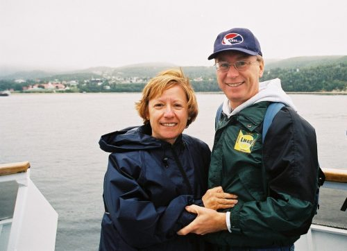 Céline et Jacques au Saguenay