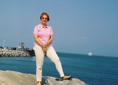 Pointe-au-Père dans le base du fleuve, le 20 août 2003!
