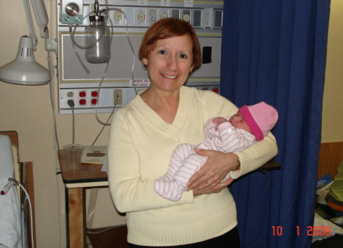 10 janvier 2008... Céline est grand-mère pour une 2e fois