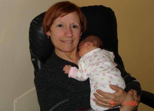 12 janvier 2008... Chloé est sur le point de sortir de l'hôpital