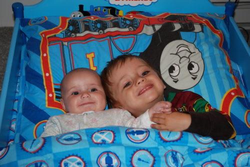 1er juin 2008... Chloé et Félix