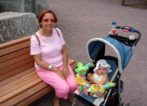 17 juillet 2008... une première visite dans un zoo pour Chloé.