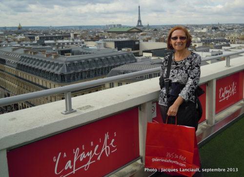 5 octobre 2013 - Galeries Lafayette, Paris, France