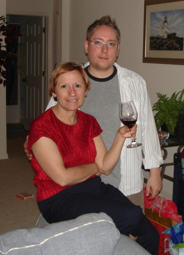 Céline et Marc-André