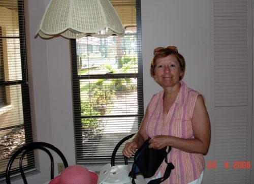 Fin avril 2006, Sarasota, Floride