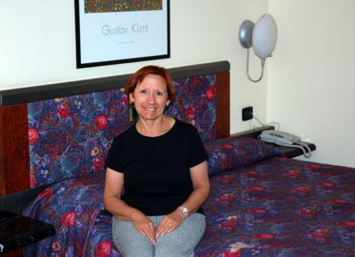 À notre hôtel à Giardini Naxos en Sicile le 9 octobre 2008