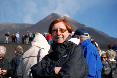 10 octobre 2008 devant l'Etna en Sicile.