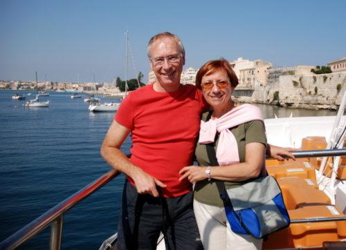Jacques et Céline... à Syracuse en Sicile