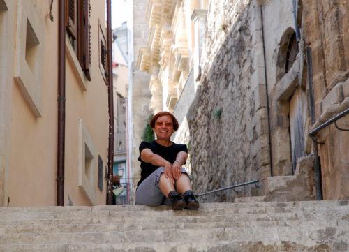À Ragusa Ibla en Sicile, le 14 octobre 2008