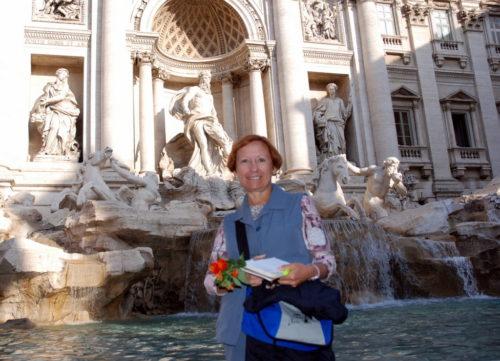 24 octobre 2008... la fontaine de Trevi, Rome, Italie