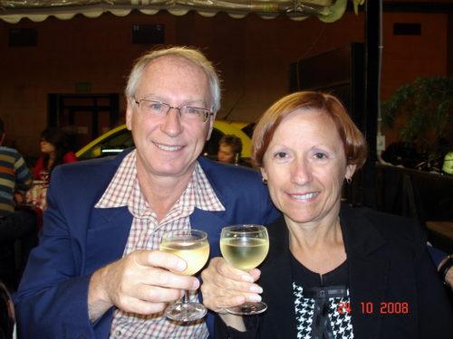 Souper d'anniversaire à Rome en 2008