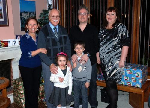Famille Noël 2012