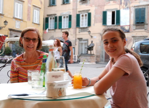 Piazza Cittadella, Lucques, Italie