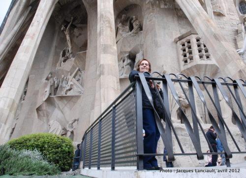 Sagrada Familia, Barcelone, Espagne, avril 2012