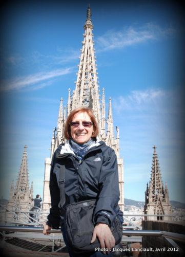 Cathédrale de Barcelone, Barcelone, Espagne, avril 2012