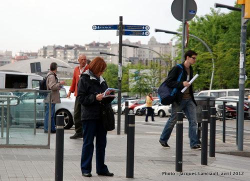 Barcelone, Espagne, avril 2012