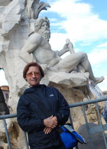 Piazza Navona, Rome, Italie, le 24 octobre 2009