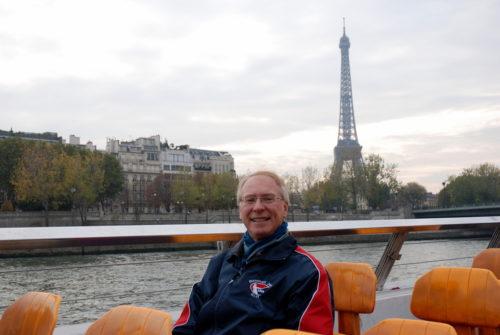 Paris, France à la toute fin du mois d'octobre 2009