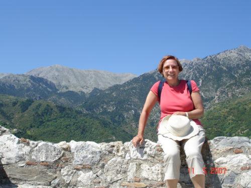 11 mai 2007, Mystra, Grèce