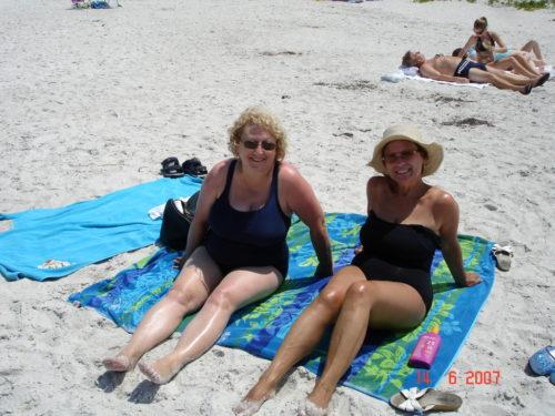 Juin 2007 Micheline et Céline, Naples, Floride
