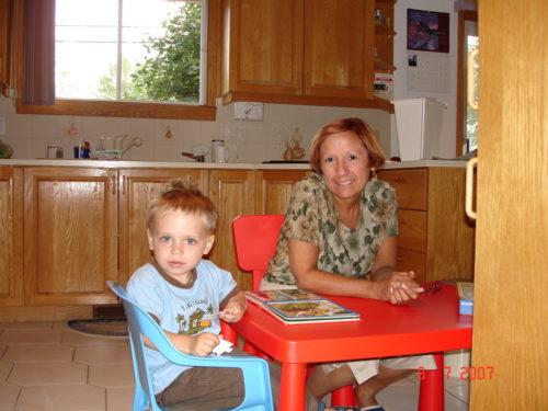 Juillet 2007 avec Félix