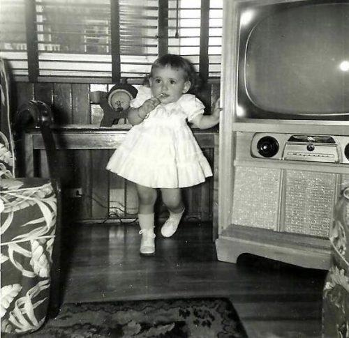 Céline, le 17 avril 1955