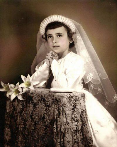 Première communion de Céline