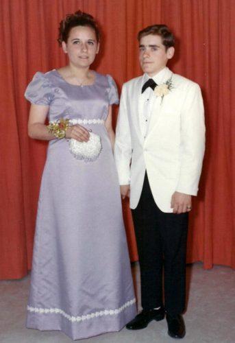 2 mai 1970, Céline avec son cousin Robert