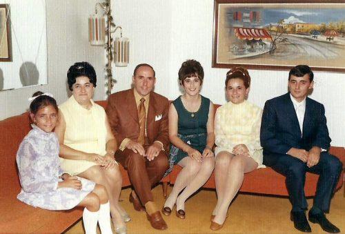 Le 15 août 1970, la famille Pichette lors du mariage de Michel