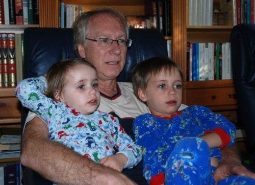 Le 19 mai 2010, Chloé, moi et Félix