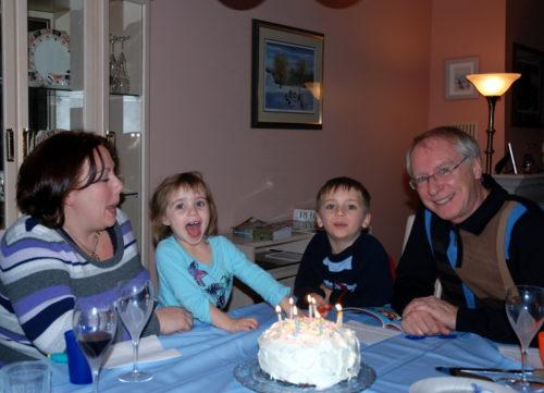 28 novembre 2010, on fête mon anniversaire de naissance