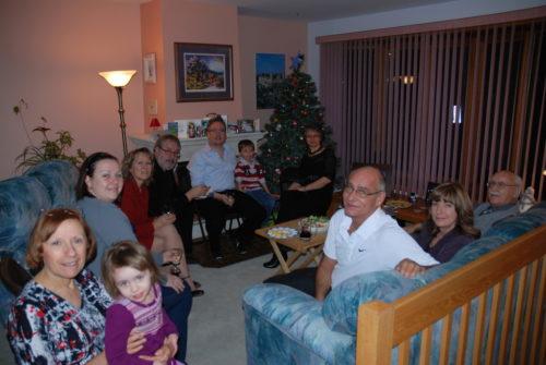 12 janvier 2011... nous recevons les Lanciault