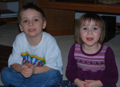 Félix et Chloé, le 13 février 2011