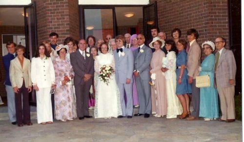 Photo de groupe du 24 mai 1975