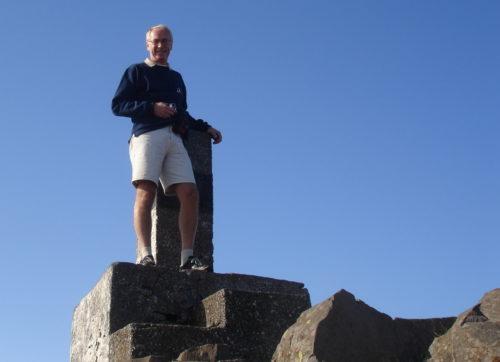 12 septembre 2007, au sommet d'un autre château, cette fois-ci sur l'île de Madère au Portugal
