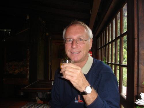 12 septembre 2007 à siroter une délicieuse liqueur locale