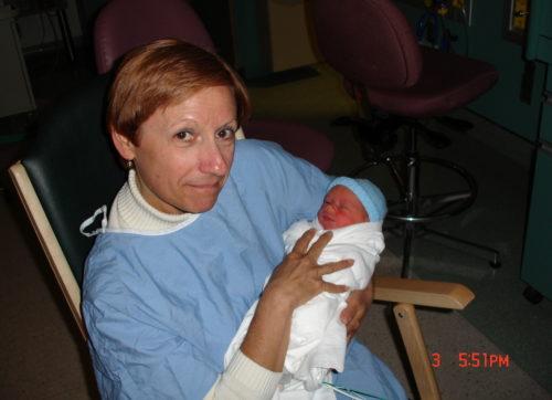 Janvier 2005... naissance de Félix